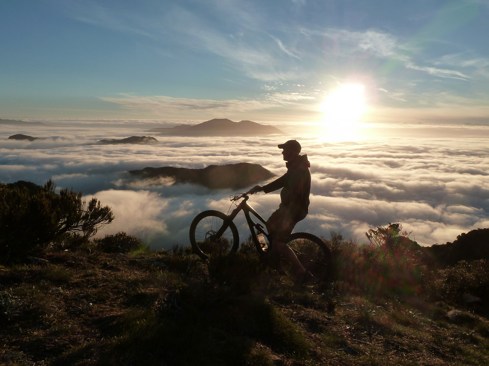 Southern Alps Mountain Bike Adventures New Zealand