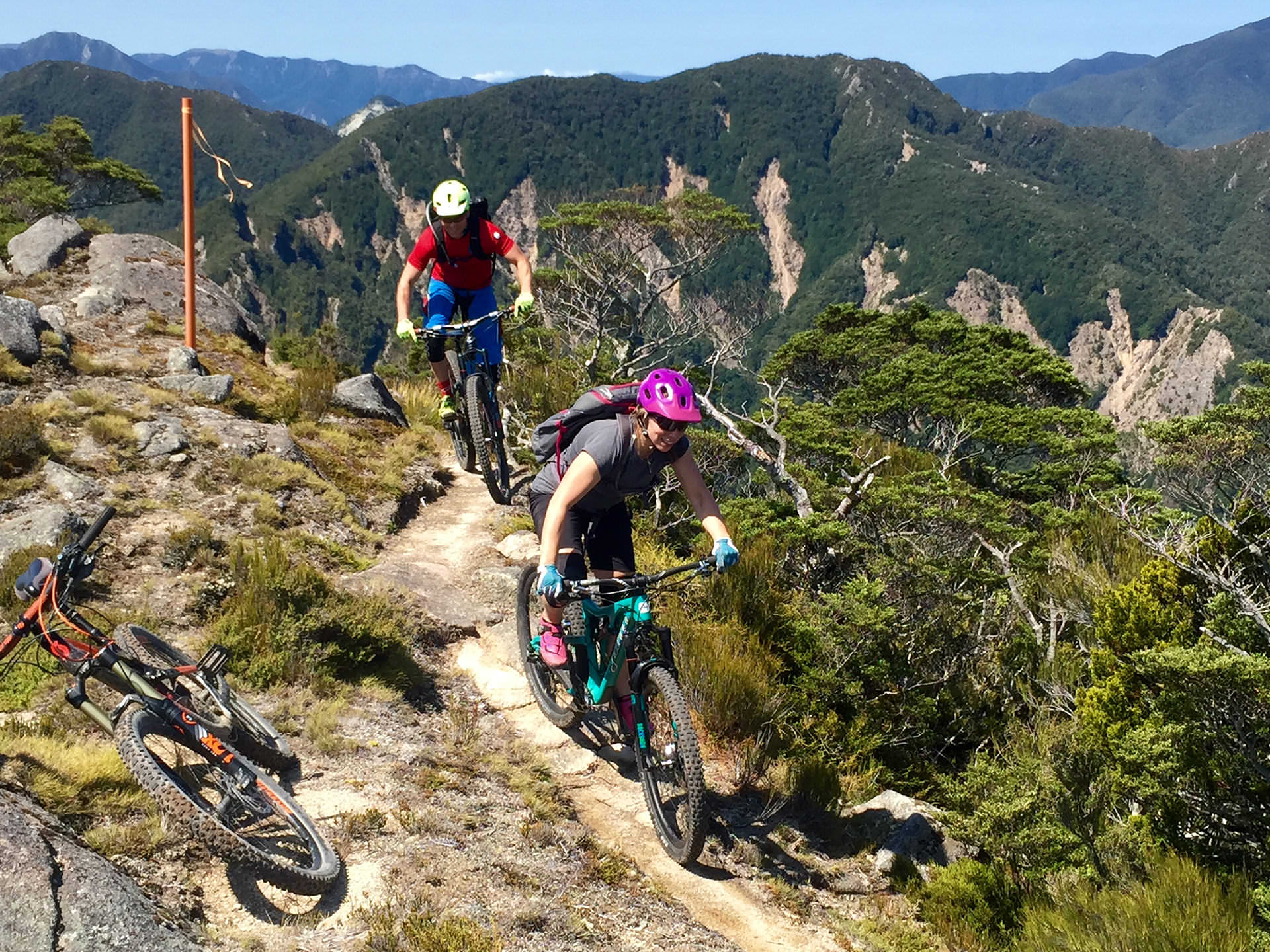 New Zealand Mountain Bike Adventures