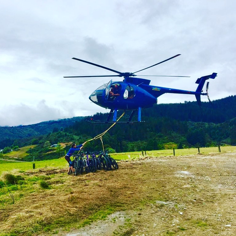 Heli Biking New Zealand